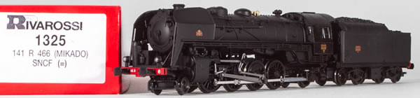 Consignment 1325 - Rivarossi 1325 French Steam Locomotive 141 R 466 MIKADO of the SNCF