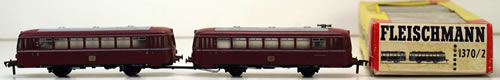 Consignment 1370 - Fleischmann 1370 Railbus Tailer Pair of the DB
