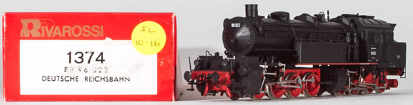 Consignment 1374 - Rivarossi 1374 German Steam Locomotive BR 96 022 of the DRG