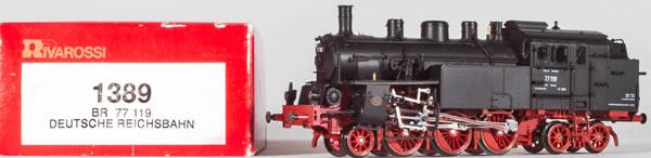 Consignment 1389 - Rivarossi 1389 German Steam Locomotive BR 77 119 of the DB