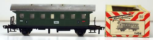 Consignment 1404 - Fleischmann 1404 2nd Class Passenger Car