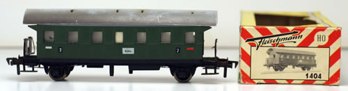 Consignment 1404 - Fleischmann 1404 2nd Class Passenger Car