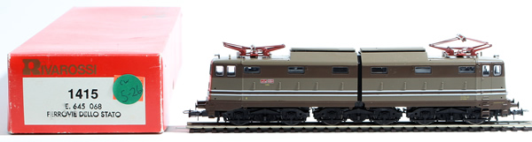 Consignment 1415 - Rivarossi 1415 Italian Electric Locomotive E645 of the FS