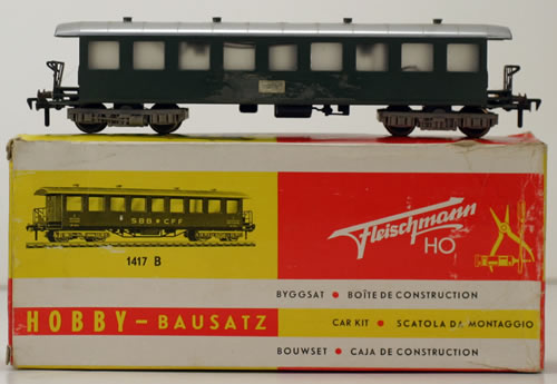 Consignment 1417B - Fleischmann 1417B Passenger Car CFF of the SBB