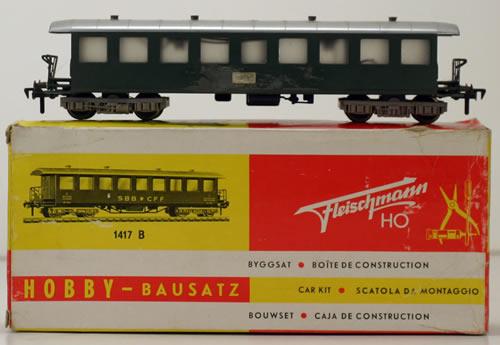 Consignment 1417B - Fleischmann 1417B Passenger Car CFF of the SBB
