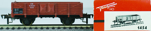 Consignment 1454 - Fleischmann 1454 High Sided Gondola of the DB