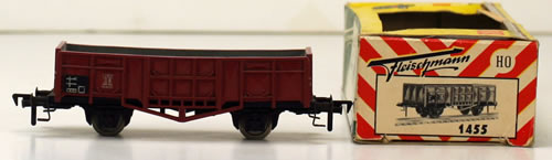 Consignment 1455 - Fleischmann 1455 Steel Sided Mineral Wagon of the DB