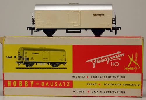 Consignment 1467B - Fleischmann 1467B Refrigerator Car of the DB