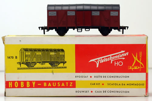 Consignment 1470B - Fleischmann 1470B Goods Wagon of the DB