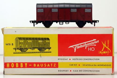 Consignment 1470B - Fleischmann 1470B Goods Wagon of the DB
