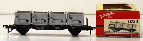 Consignment 1473E - Fleischmann 1473E HAUS Wagon of the DB