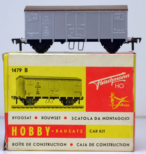 Consignment 1479B - Fleischmann 1479B Box Car of the FS