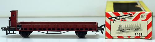 Consignment 1482 - Fleischmann 1482 Flat Car w/ Brakemans cab of the DB