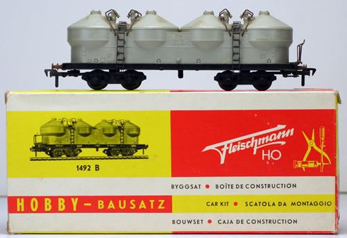 Consignment 1492B - Fleischmann 1492B Cement Car of the DB