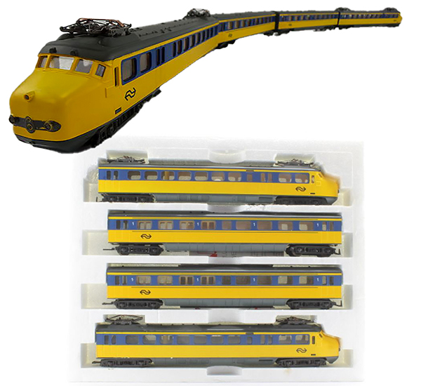 Consignment 149709 - Lima 149709 Dutch 4pc Electric Passenger Train of the NS