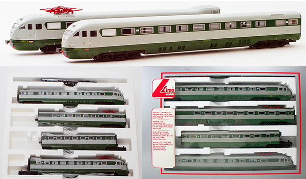 Consignment 149717L - Lima 149717 Italian 4pc Electric Passenger Train ETR 233 of the FS