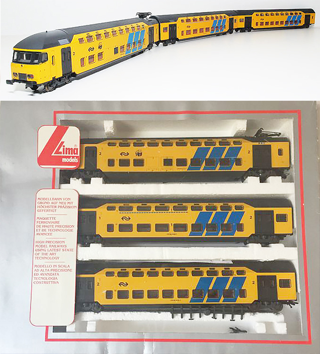 Consignment 149723 - Lima 149723 Electric Double Decker Intercity 3 Car Set