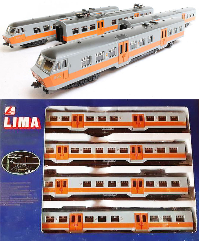 Consignment 149747 - Lima 149747 Belgian 4pc Electric Passenger Train 826 of the SNCB
