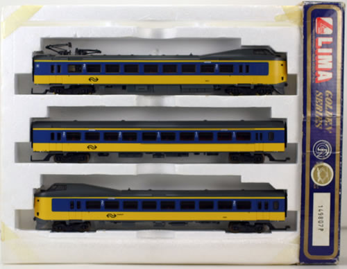 Consignment 149807 - Lima 149807 Electric Locomotive Commuter Train Set of 3