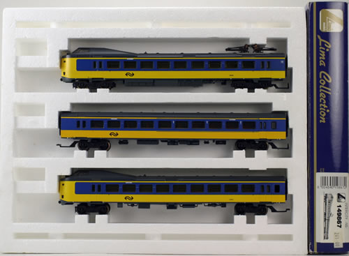Consignment 149867 - Lima 149867 Intercity Electric Locomotive 3 car unit of the NS