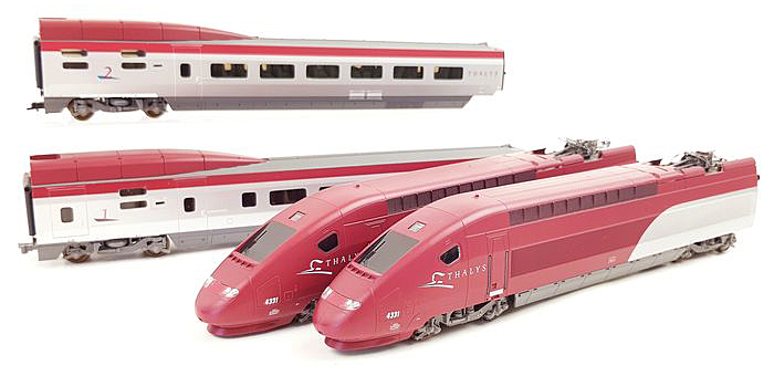 Consignment 149875 - Lima 149875 French 4pc Electric TGV Thalys Set of the SNCF
