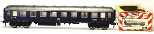 Consignment 1501 - Fleischmann 1501 1st Class Express Coach A4um of the DB