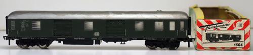 Consignment 1504 - Fleischmann 1504 Baggage Car Class D4um of the DB