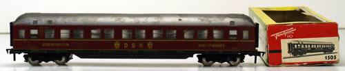 Consignment 1505 - Fleischmann 1505 Sleeper Coach of the DB