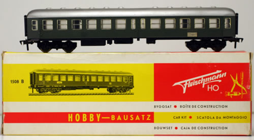 Consignment 1508B - Fleischmann 1508B 2nd Class Passenger Coach of the DB