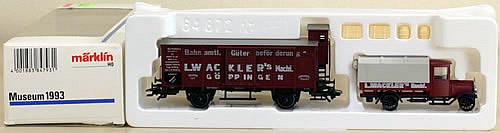 Consignment 1993museum - Marklin Museum Car 1993