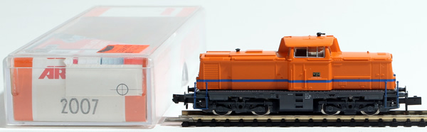 Consignment 2007 - Arnold 2007 German Diesel Locomotive V132 of the DB