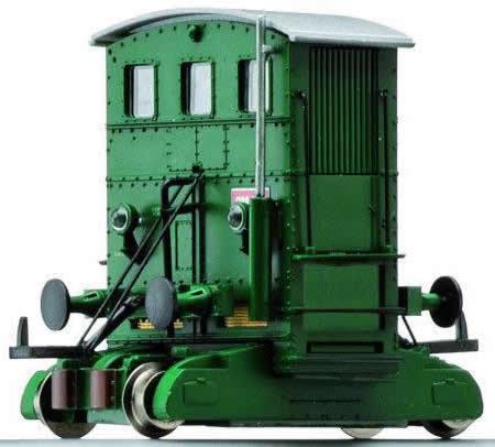 Consignment 2080 - Rivarossi 2080 - Italian Shunting tractor 208.049 of the FS