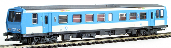 Consignment 208177L - Lima 208177 French 1st / 2nd Class Railcar TER Centre with Trailer of the SNCF