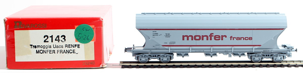 Consignment 2143 - Rivarossi 2143 Freight Car Monfer France