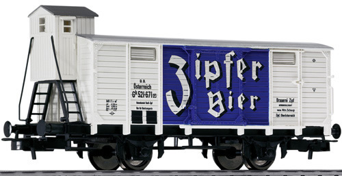 Consignment 221490 - Liliput ZIPFER Beer wagon with brakeman