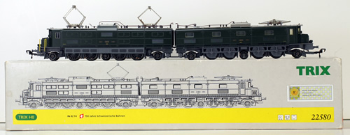 Consignment 22580 - Trix 22580 Electric Locomotive Ae 8/14 of the SBB