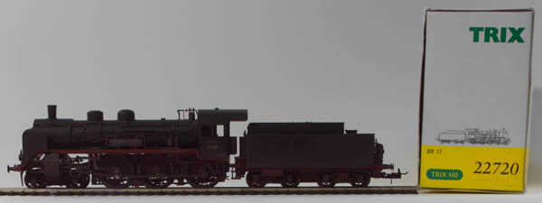 Consignment 22720 - Trix 22720 German Steam Locomotive BR 17 007 of the DR