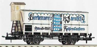 Consignment 23532 - Trix Beer Car Bierbrauerei Jaenisch