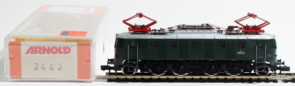 Consignment 2442 - Arnold 2442 Austrian Electric Locomotive BR 1018 of the OBB