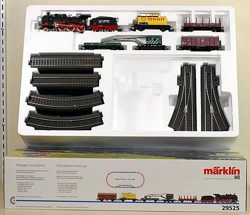 Consignment 29525 - Marklin 29525 Starter Set with Crane Car