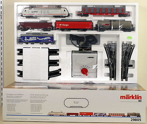 Consignment 29805 - Marklin 29805 Starter Set Class 12x Electric