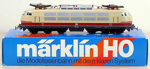 Consignment 3054 - Marklin 3054 - Class 103 DB