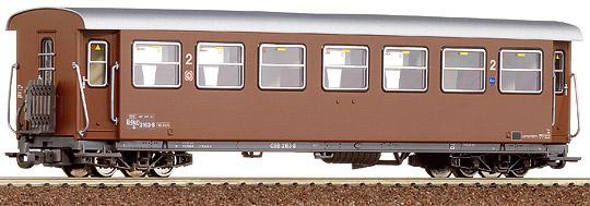 Consignment 34004 - Roco 2nd Class Passenger Car Mariazeller B brown