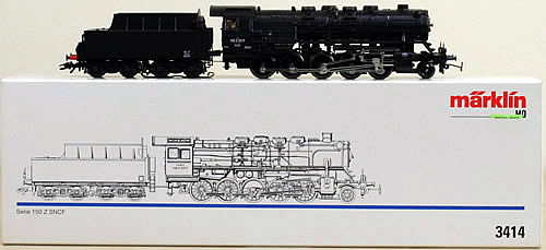 Consignment 3414 - Marklin 3414 Steam Locomotive Series 150 Z