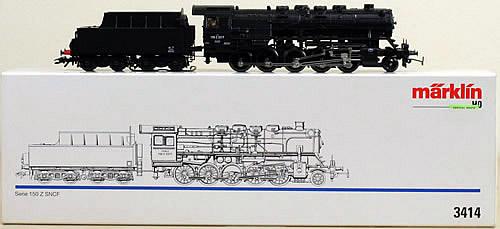 Consignment 3414 - Marklin 3414 - Steam Locomotive Series 150 Z