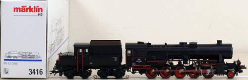 Consignment 3416MA - Marklin 3416 BR 52 Steam Locomotive Delta