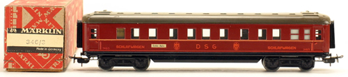 Consignment 346-3 - Marklin Passenger Sleeping Car