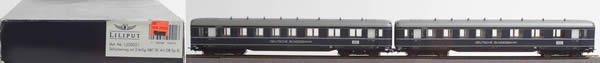 Consignment 350021 - Liliput 350021 2pc 1st/2nd/3rd Class Passeneger Coach Set