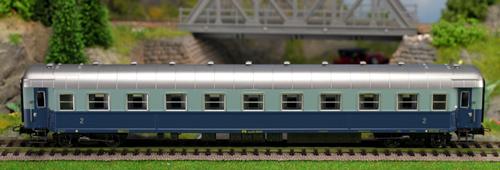 Consignment 3552 - Rivarossi 3552 FS Coach Bz 45441 Treno Azzurro