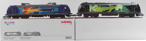 Consignment 36837 - German Locomotive Set Br 185 and Br2016 FC Club Superman